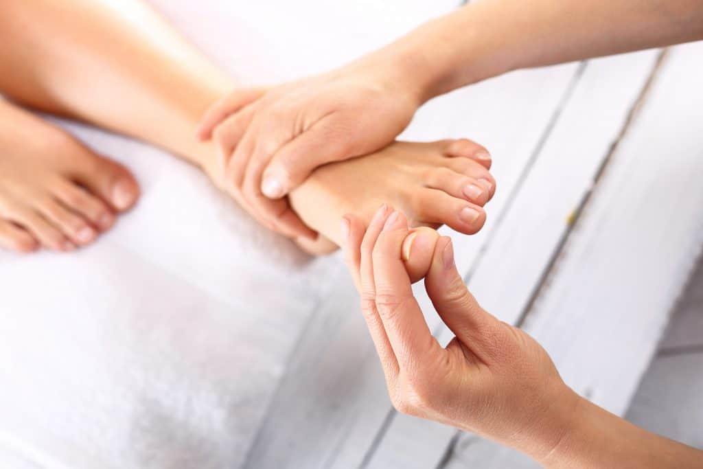 Receptoare de presiune pe picioare si maini