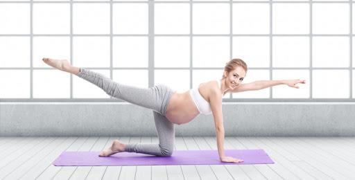 yoga gravidă