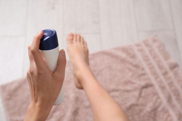 Transpirație excesivă a picioarelor