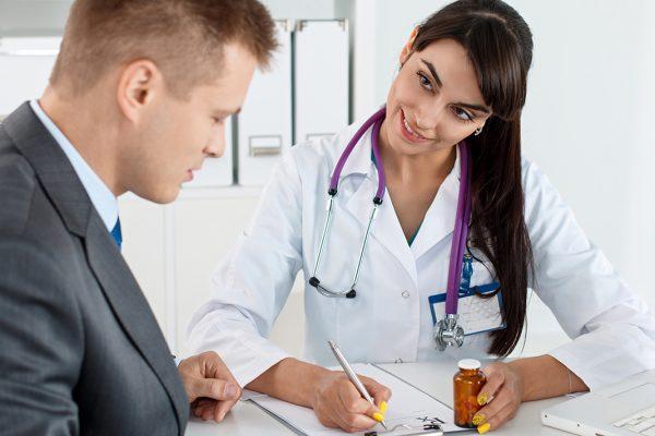 țigări cu probleme de potență - o vizită la medic