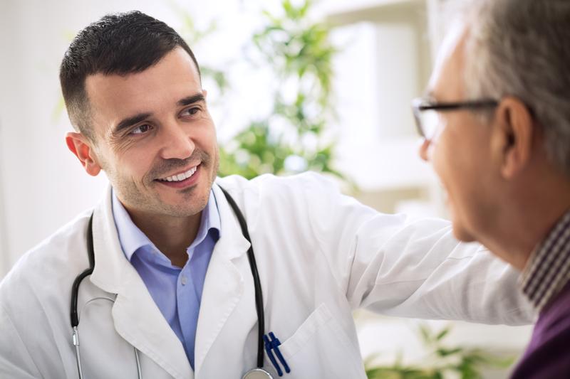 O vizită la medic pentru probleme de erecție.